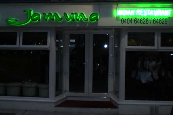 Jamuna 3D LED Lettering and Neon